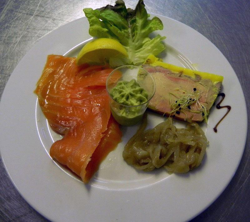 La ferme des menhirs galerie - Foie gras decoration assiette ...